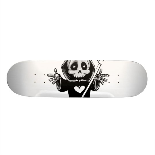 Cute reaper-baby reaper-cartoon reaper-baby grim 21.3 cm mini skateboard deck