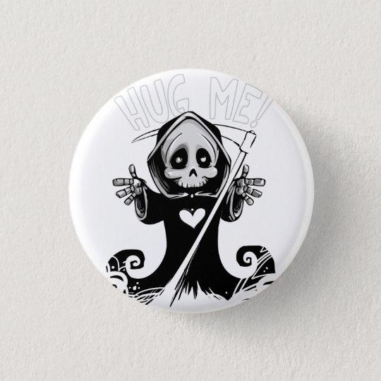 Cute reaper-baby reaper-cartoon reaper-baby grim 3 cm round badge