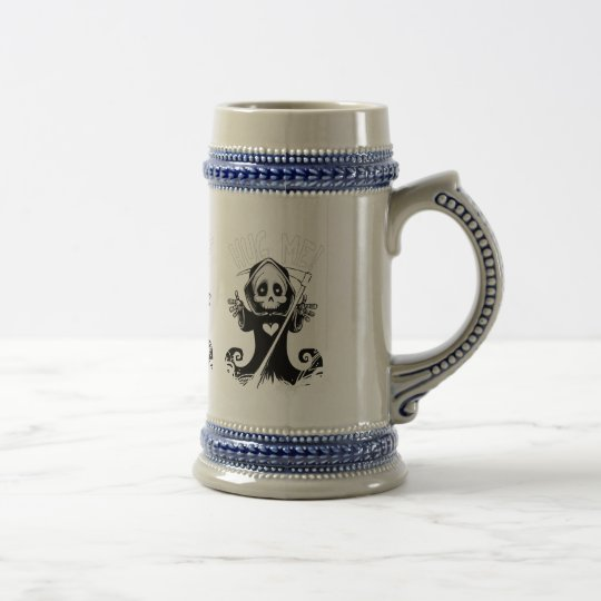 Cute reaper-baby reaper-cartoon reaper-baby grim beer stein