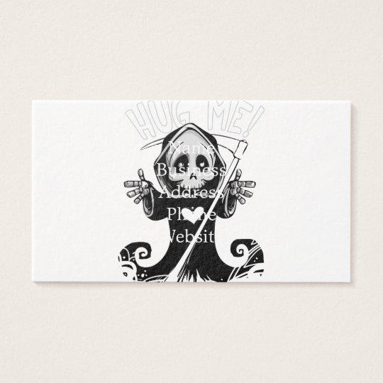 Cute reaper-baby reaper-cartoon reaper-baby grim business card