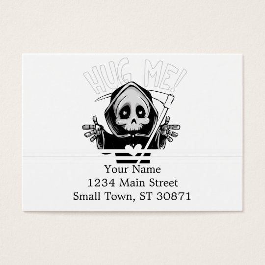 Cute reaper-baby reaper-cartoon reaper-baby grim business card