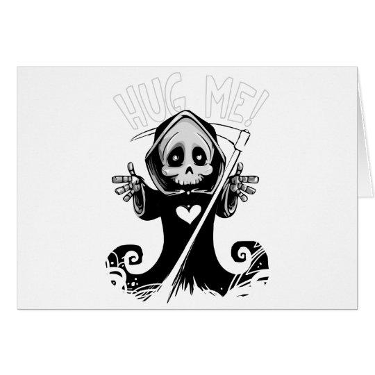 Cute reaper-baby reaper-cartoon reaper-baby grim card