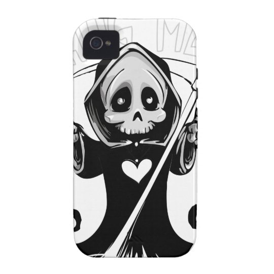 Cute reaper-baby reaper-cartoon reaper-baby grim Case-Mate iPhone 4 cases