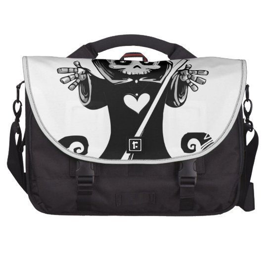 Cute reaper-baby reaper-cartoon reaper-baby grim commuter bags