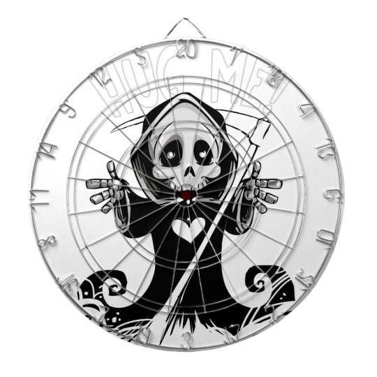 Cute reaper-baby reaper-cartoon reaper-baby grim dartboard