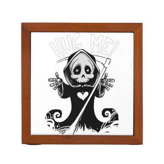 Cute reaper-baby reaper-cartoon reaper-baby grim desk organiser