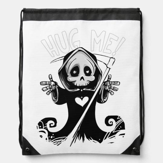 Cute reaper-baby reaper-cartoon reaper-baby grim drawstring bag