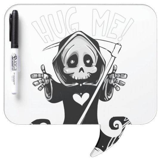 Cute reaper-baby reaper-cartoon reaper-baby grim dry erase board