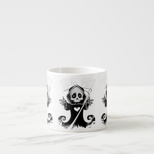 Cute reaper-baby reaper-cartoon reaper-baby grim espresso cup
