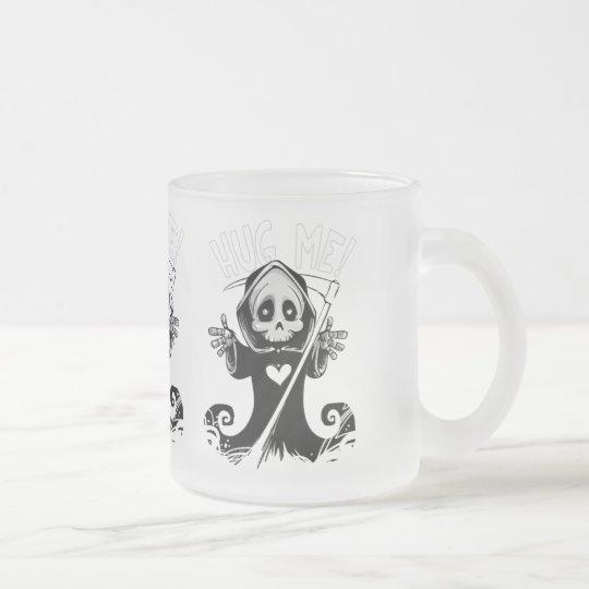Cute reaper-baby reaper-cartoon reaper-baby grim frosted glass coffee mug