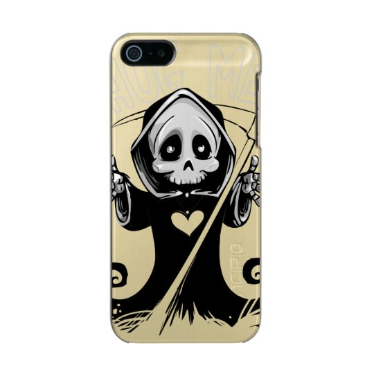 Cute reaper-baby reaper-cartoon reaper-baby grim incipio feather® shine iPhone 5 case