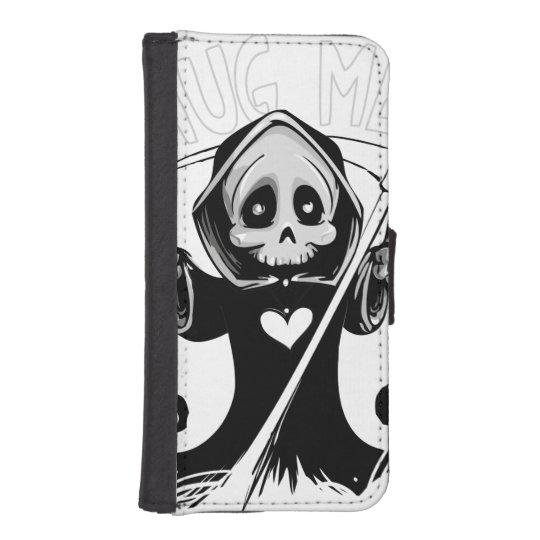 Cute reaper-baby reaper-cartoon reaper-baby grim iPhone SE/5/5s wallet case