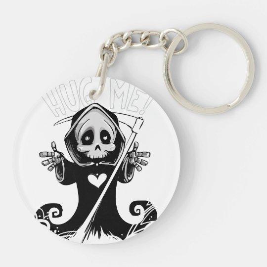 Cute reaper-baby reaper-cartoon reaper-baby grim key ring