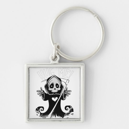 Cute reaper-baby reaper-cartoon reaper-baby grim key ring