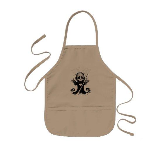 Cute reaper-baby reaper-cartoon reaper-baby grim kids apron