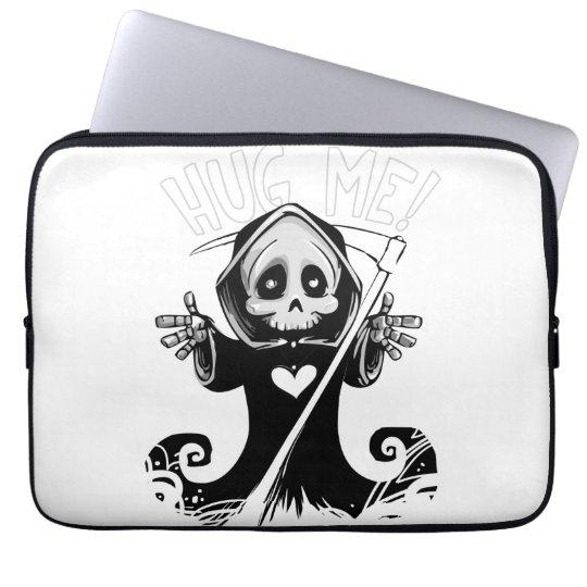 Cute reaper-baby reaper-cartoon reaper-baby grim laptop sleeve