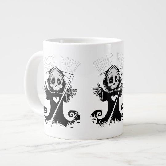 Cute reaper-baby reaper-cartoon reaper-baby grim large coffee mug