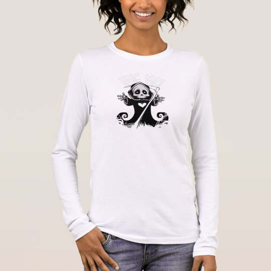 Cute reaper-baby reaper-cartoon reaper-baby grim long sleeve T-Shirt