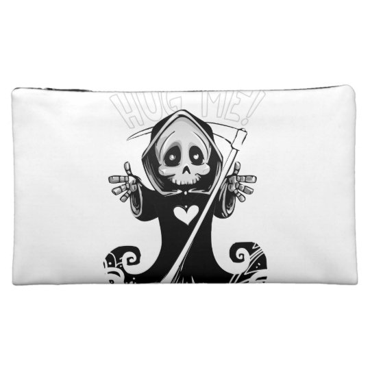 Cute reaper-baby reaper-cartoon reaper-baby grim makeup bag