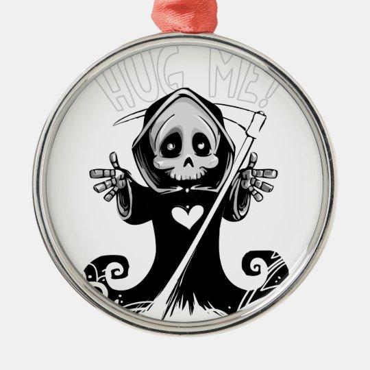 Cute reaper-baby reaper-cartoon reaper-baby grim metal ornament