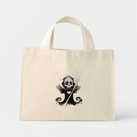 Cute reaper-baby reaper-cartoon reaper-baby grim mini tote bag