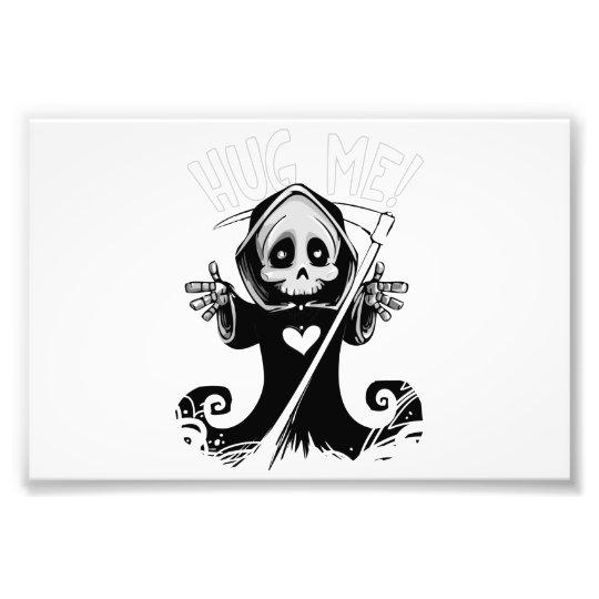 Cute reaper-baby reaper-cartoon reaper-baby grim photo print