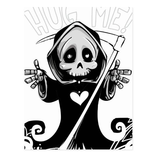 Cute reaper-baby reaper-cartoon reaper-baby grim postcard