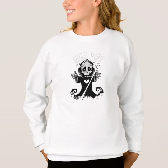 Cute reaper-baby reaper-cartoon reaper-baby grim sweatshirt