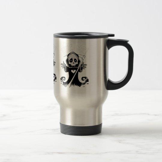 Cute reaper-baby reaper-cartoon reaper-baby grim travel mug