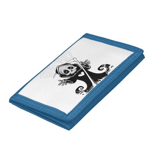 Cute reaper-baby reaper-cartoon reaper-baby grim tri-fold wallets