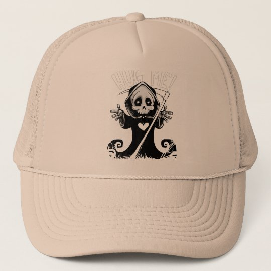 Cute reaper-baby reaper-cartoon reaper-baby grim trucker hat