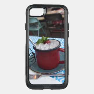 Cute Red & Black Phone Case –  Strawberry Lemonade