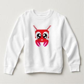Cute Red Crustacean Sweatshirt