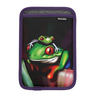 Cute Red Eyed Tree Frogs iPad Mini Sleeves