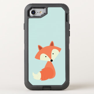 Cute Red Fox OtterBox Defender iPhone 7 Case