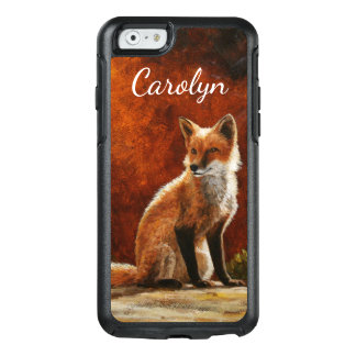 Cute Red Fox Sitting In The Sun OtterBox iPhone 6/6s Case