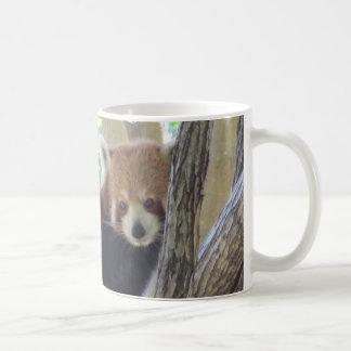Cute Red Panda Basic White Mug