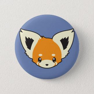 Cute Red Panda Head 6 Cm Round Badge