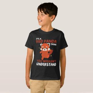 Cute Red Panda T-Shirt for Kids