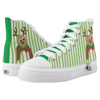 Cute Reindeer High Tops