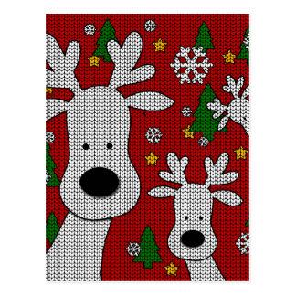 Cute Reindeer Postcard