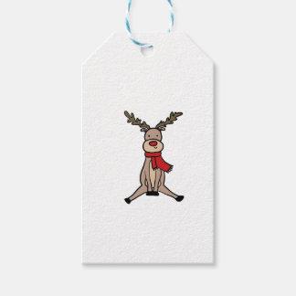 CUTE REINDEER, Rudolph Gift Tags