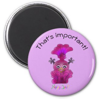 Cute Remembering Magnet - Lila