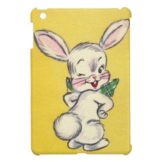 Cute Retro Bunny iPad Mini Case