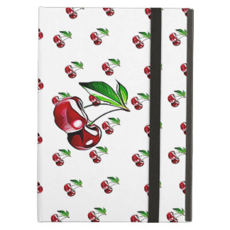Cute Retro Cherry Tablet Case and Stand iPad Air Cover