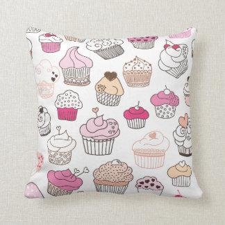 Cute retro cupcake candy pattern pillow case throw cushion