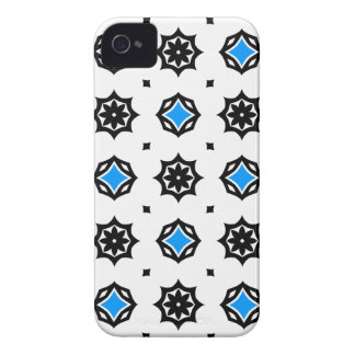 Cute retro diamonds and hearts pattern iPhone 4 covers