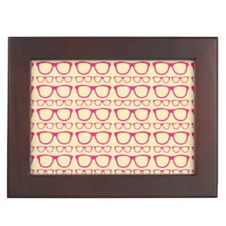 Cute Retro Eyeglass Hipster Memory Boxes