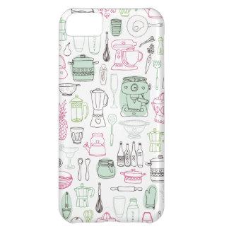 Cute retro kitchen cooking iphone case iPhone 5C case