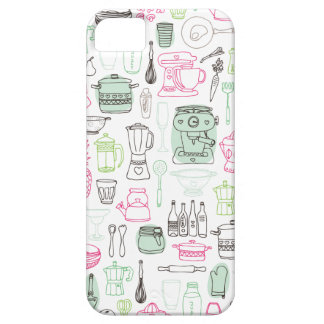 Cute retro kitchen cooking iphone case iPhone 5 covers